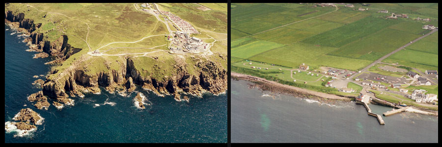 Aerial Images from Lands Ends to John o'Groats